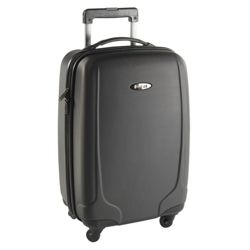 Revelation by Antler Cortona 4-Wheel Hard Shell Suitcase, Black Small