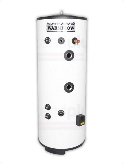 Warmflow Eco DIRECT Unvented Stainless Steel Hot Water Cylinder 300 LITRE