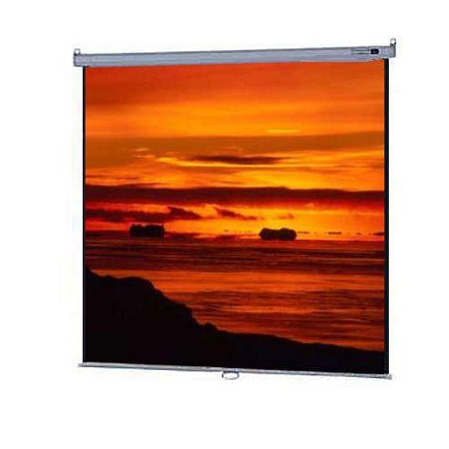 Da-Lite Model B Manual Wall and Ceiling Screen Square Format Matte White 70 x 70 inch