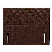 Furmanac Chelsea Upholstered Headboard - Single - Weave Grey