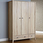 Elements Portwood 3 Door Wardrobe