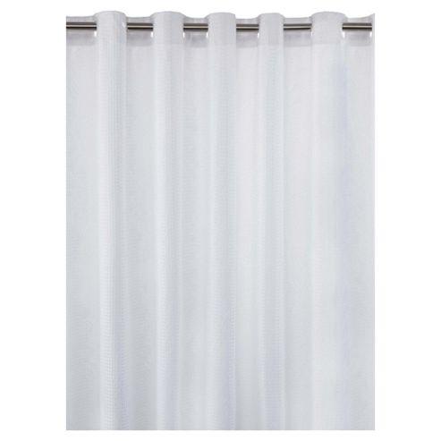 Tesco Waffle Shower Curtain