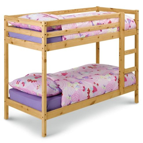 Buy Ashley Pine Twin Shorty Bunk Bed from our Kids' Bunk ...
