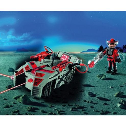 Playmobil 5156 Dark Rangers Explorer with Flash Cannon