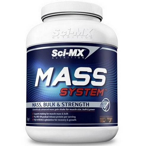 Sci-MX Mass System 2kg Chocolate