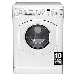 Hotpoint WDF740P Freestanding Washer Dryer, 7Kg Wash Load, B Energy Rating, White
