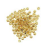 Czech Seed Bead 8/0 S/L Gold