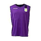 2013-14 Aston Villa Sleeveless Top (Purple) - Purple