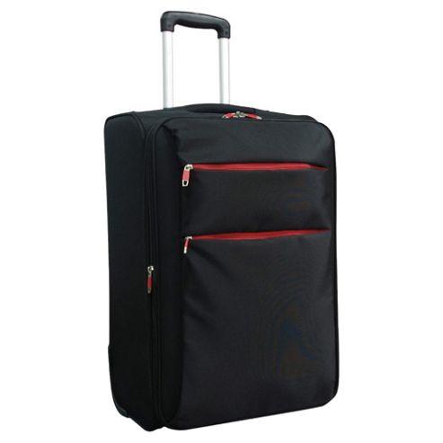 Tesco Ultra Lightweight 2-Wheel Suitcase, Black Large