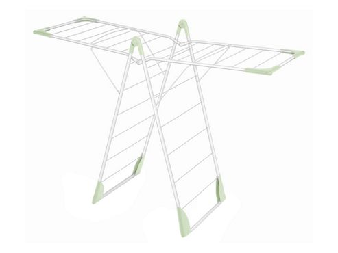 Addis 507313 X Wing Airer White/Pale Green
