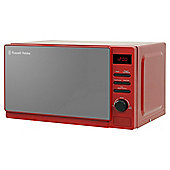 Russell Hobbs RHM2079RSO 20L Solo Microwave Red