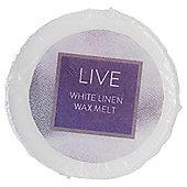 Tesco White Linen Wax Melt