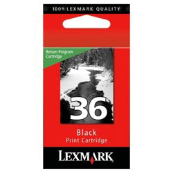 Lexmark 36 Printer Ink Cartridge - Black (18C2150E)