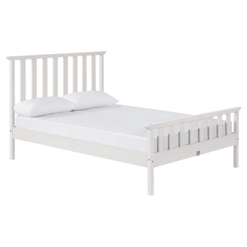 Fairhaven Double Bed Frame, White