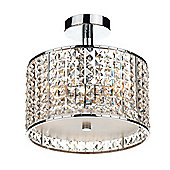 Contemporary Bathroom Semi Flush Ceiling Lighting Fixture