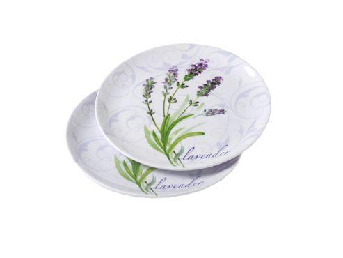 Stow 2622/Lav Lavender Mel. Side Plate X2