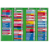 Fiesta Crafts Football Table - Magnetic
