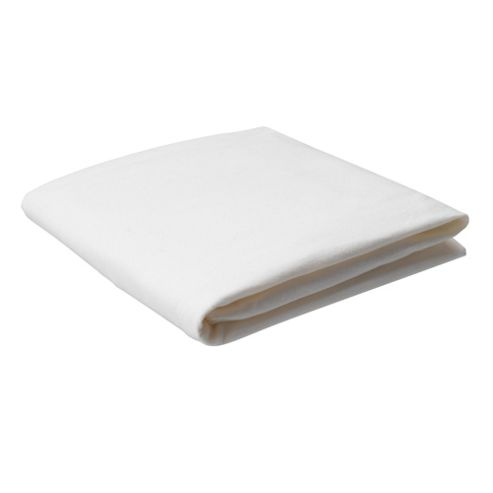 Tesco Brushed Cotton King Size Fitted Sheet, Cream