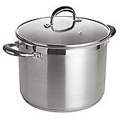 Go Cook 24 cm Large Stockpot - Stainless Steel