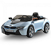BMW i8 Licensed 12v Kids Electric Car - Blue