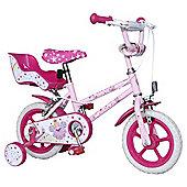 "Fairy 14"" Kids' Bike with Stabilisers"