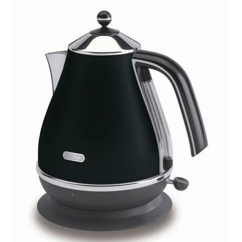 De'Longhi Icona KBO3001 Stainless Steel Kettle - Black