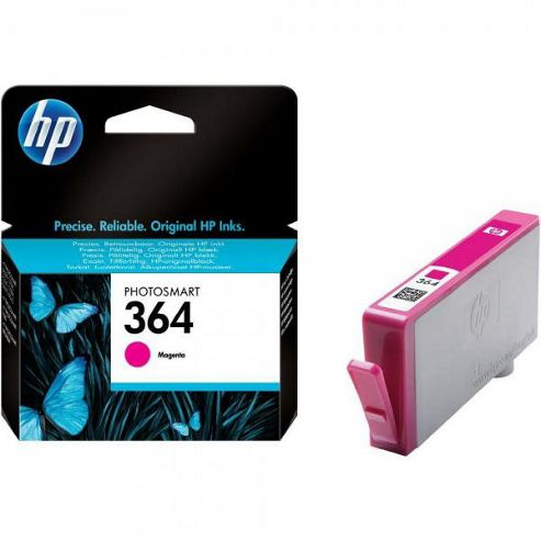 HP 364 Printer Ink Cartridge (smudge proof) - Magenta (CB319EE)