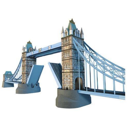Ravensburger Tower Bridge 216-Piece 3D Jigsaw Puzzle