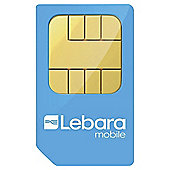 Lebara Mobile Pay as you go SIM Pack