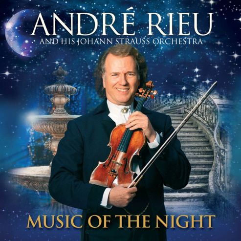 Andre Rieu 'Music Of The Night (Cd/Dvd)