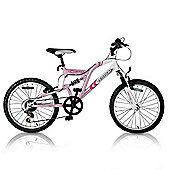 "Vertigo Vesuvius 20"" Dual Suspension Mountain Bike - Girls"