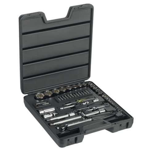 "Stanley 52pc ¼ & ½"" Metric Socket Set"