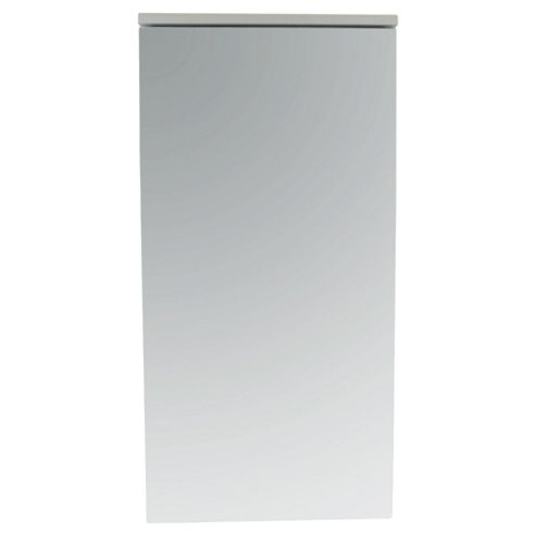 Southwold Corner Cabinet, Mirror & White Wood