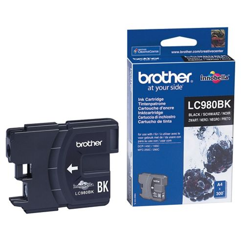 Brother LC-980 Printer Ink Cartridge - Black