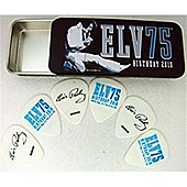 Elvis Presley 75th Pick Tin - Medium - 6 Picks