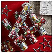 Bingo Mini Christmas Crackers, 6 pack