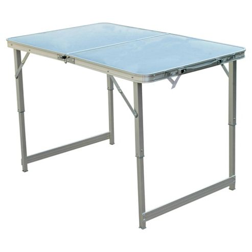 Buy Tesco Double Folding Aluminium Camping Table From Our Camping Furniture Range Tesco
