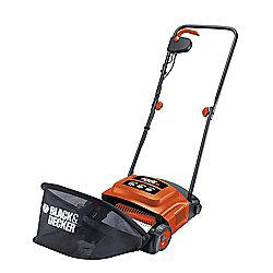 BLACK+DECKER GD300-GB 600W Electric Lawn Raker