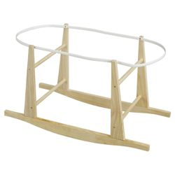 My Child Wooden Rocking Stand For Moses Basket