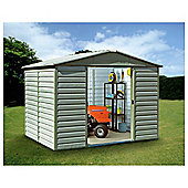 Yardmaster Metal Shiplap Shed, 10x12ft