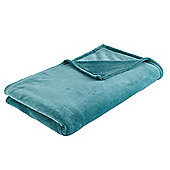 F&F home Super Soft Throw - Teal