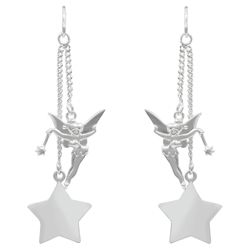 Disney Tinkerbell Star Drop Earrings