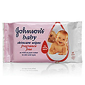 Johnsons Baby Extra Sensitive Wipes - 6 Pack - 336 Wipes