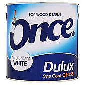 Dulux Once Gloss Pbw 2.5L