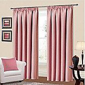 Manhattan Thermal Blackout Curtains 64 x 72 - Pink