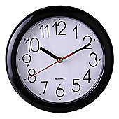 Tesco Clocks Basic Wall Clock, Black