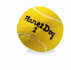 Planet Dog Squeaky Sport Tennis Ball Dog Toy