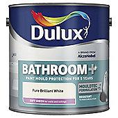 Dulux Bathroom Paint, Pure Brilliant White, 2.5L