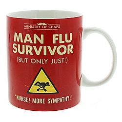 Ministry of Chaps Man Flu Survivor Mug