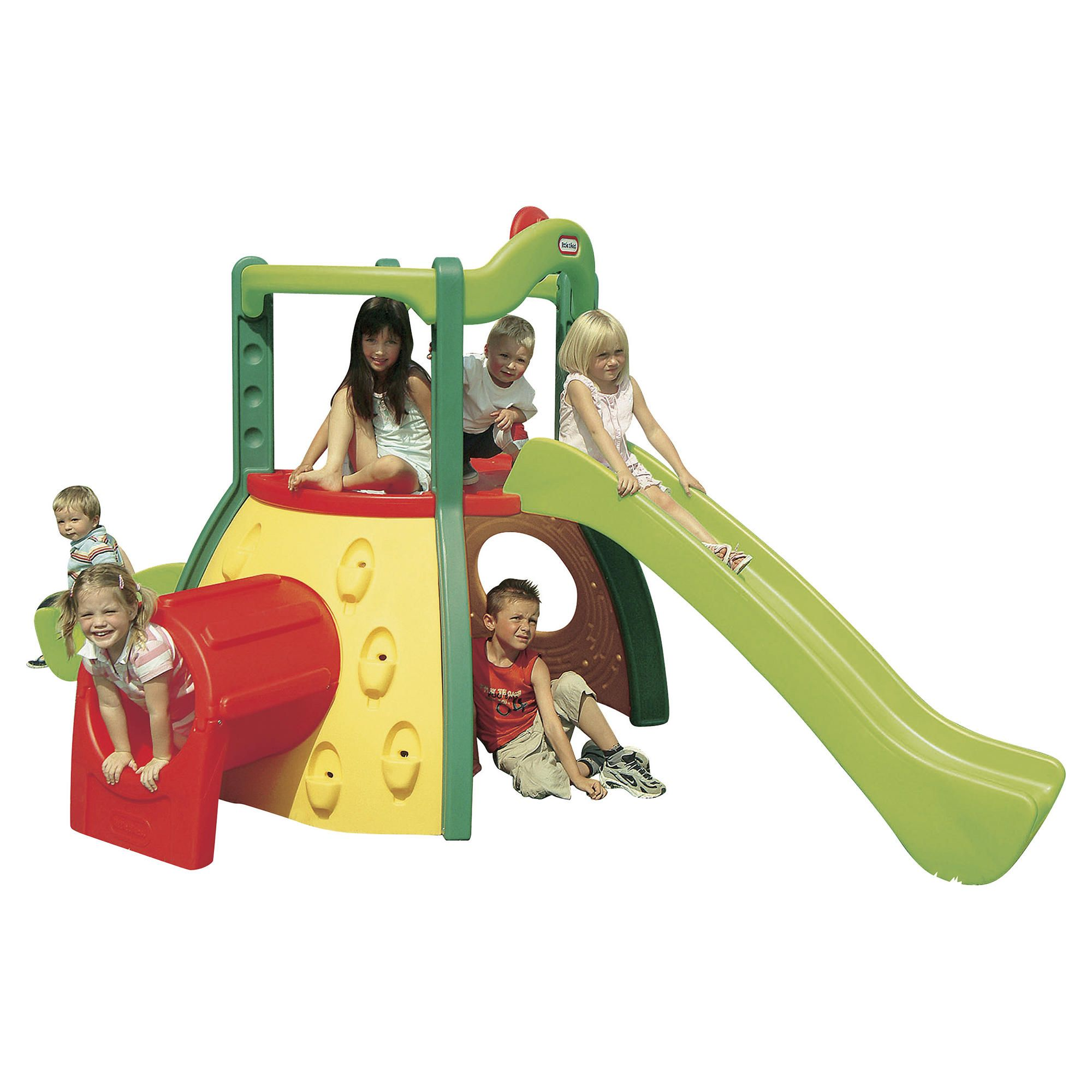Little Tikes Double Decker Evergreen Superslide at Tescos Direct